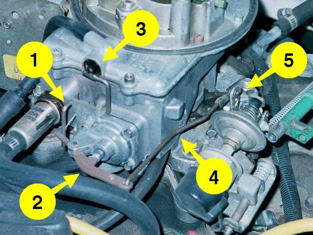 Accpump on Ford Carburetor Diagram
