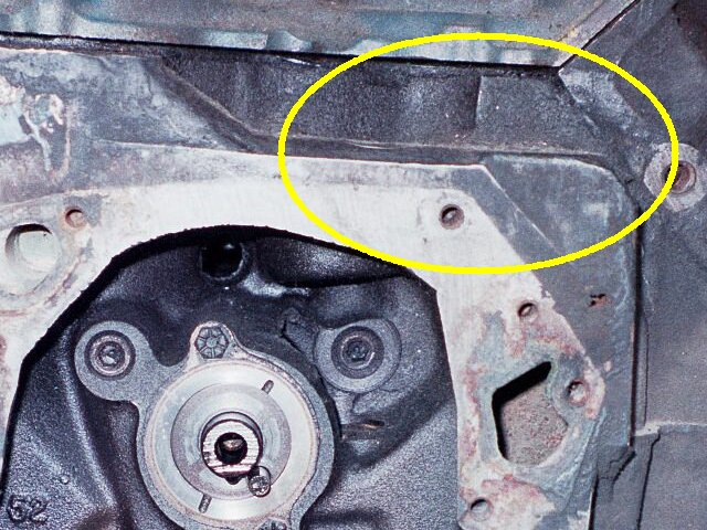 ford engine block serial number location